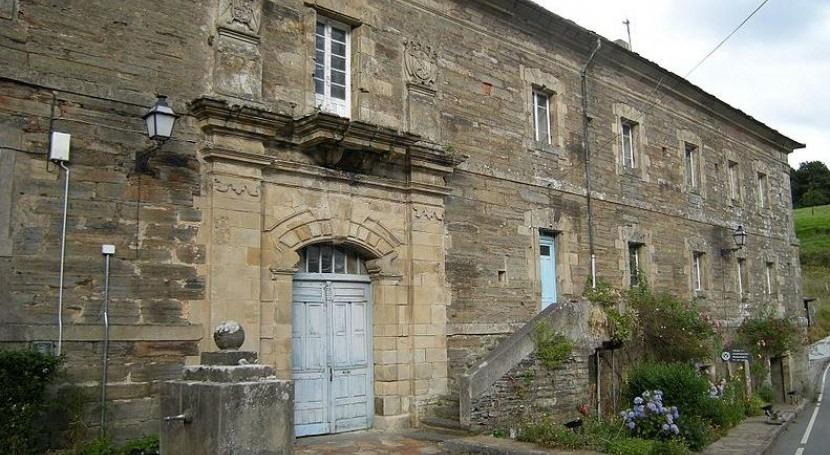 Descubierta obra alcantarillado siglo XVII monasterio asturiano