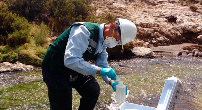 ANA publicará estado calidad agua 6 cuencas como medio concienciación