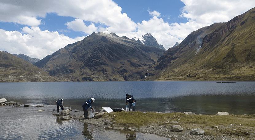 Autoridad Nacional Agua realiza monitoreo calidad agua cuencas Alto Marañón V