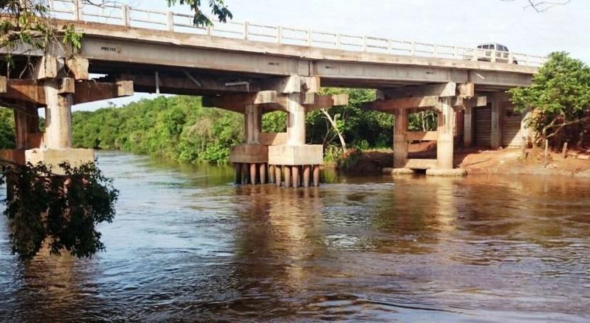 Concluye reconstrucción puente río Curuguaty'y