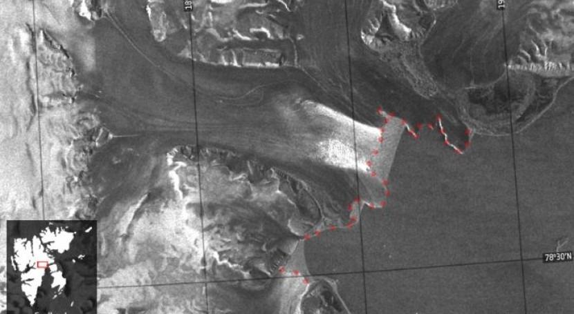 Satélites detectan rápida aceleración glaciares Ártico