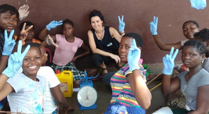 Promoción Social trabaja asegurar acceso al agua y al saneamiento Mozambique