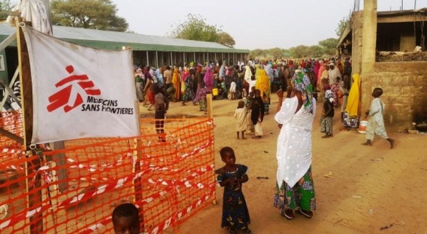 Lago Chad, asolado sequía y violencia Boko Haram
