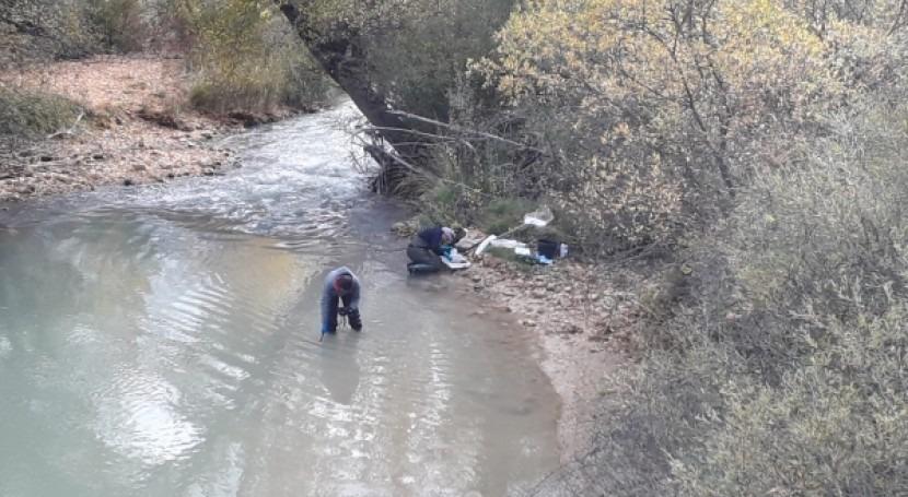 CHE publica último informe evaluación general río Guadalope, Teruel