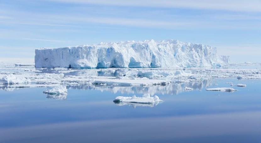 colapso murallas que protegen Antártida deshielo