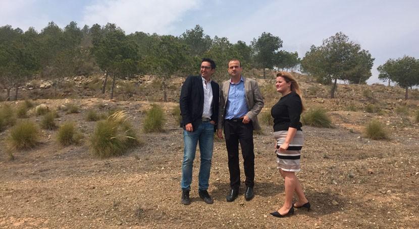 Mazarrón, escenario plan experimental adaptación al cambio climático zonas forestales