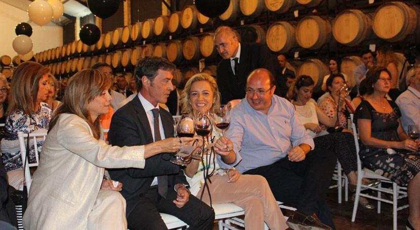 Murcia realza importancia depuradoras bodegas Región