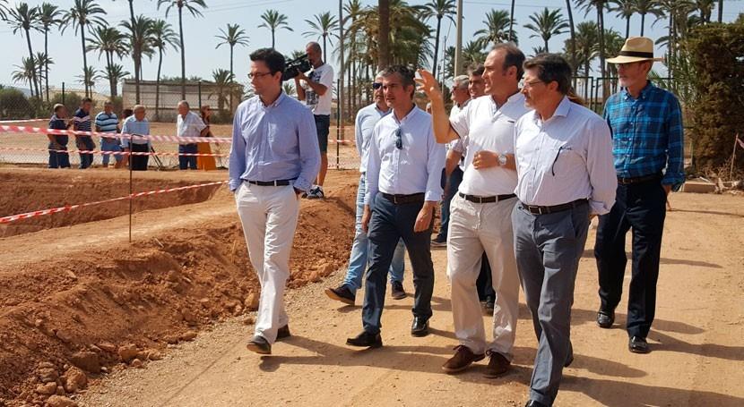 Murcia pide agilizar pruebas nitratos y salmuera agua Campo Cartagena