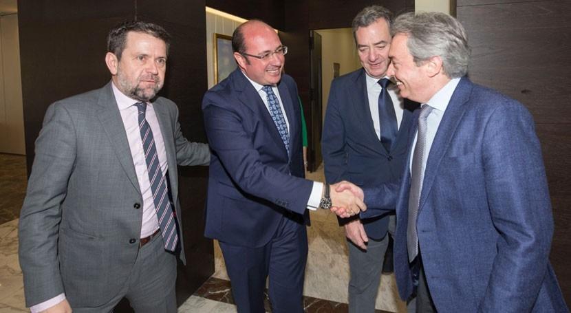 Gobierno murciano reivindica necesidad gran pacto Nacional Agua e Infraestructuras
