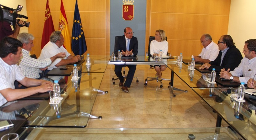 Gobierno Murcia cree que actividad agraria es compatible protección Mar Menor