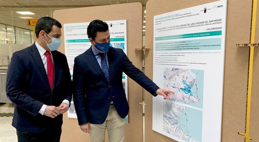 Murcia define cuatro zonas San Javier implantar sistemas drenaje sostenible