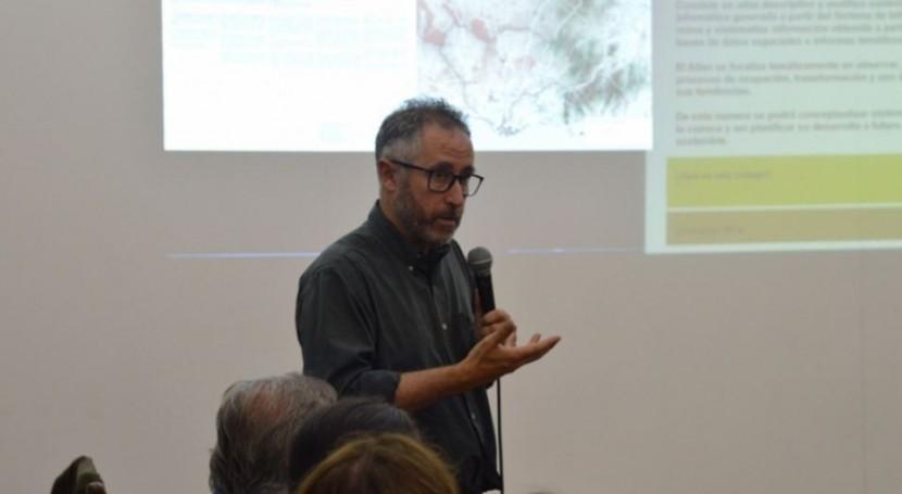 Atlas Cuenca Río Santa Lucía: análisis territorio
