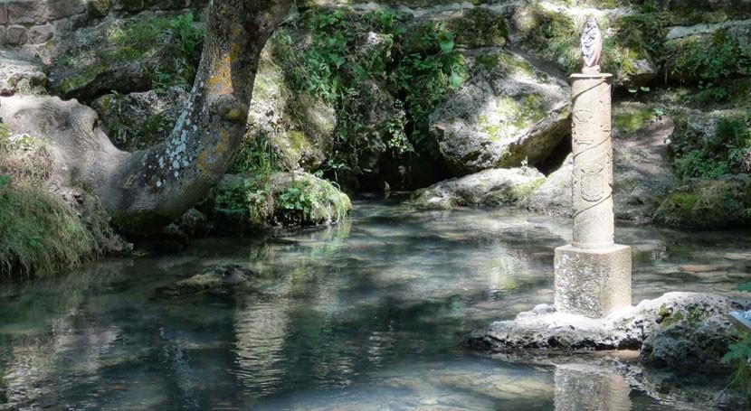Conociendo cuenca Ebro: nacimiento Ebro Fontibre Campoo Suso, Cantabria