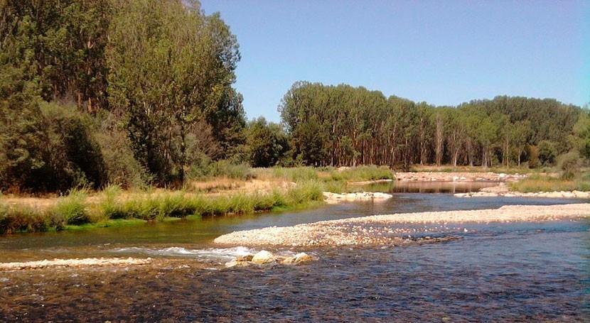 8 estaciones encima nivel alerta Castilla y León lluvias