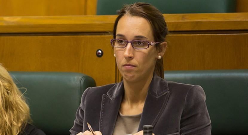 La portavoz socialista en el área de Medio Ambiente, Natalia Rojo