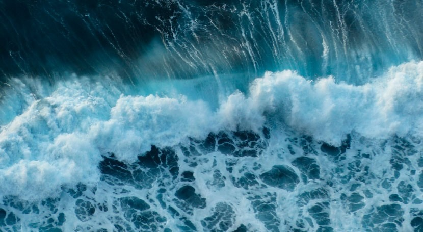 Anatomía ola: Cuando agua busca equilibrio