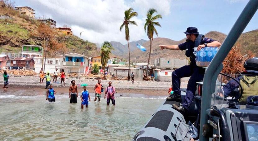 Agua, comida y refugio son necesidades más urgentes Dominica