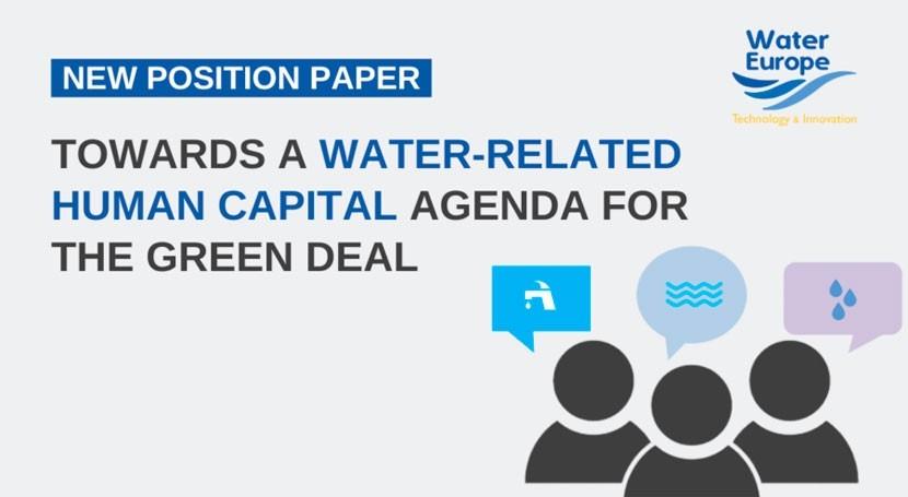 agenda capital humano relacionada agua Pacto Verde Europeo