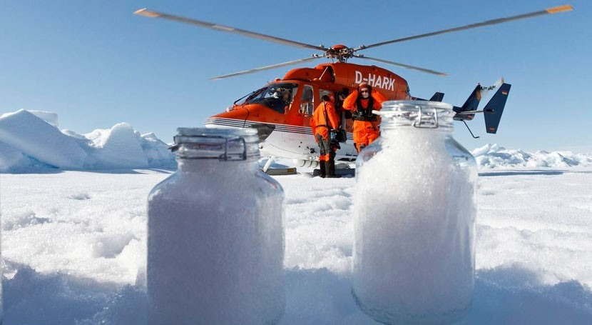 transporte atmosférico lleva microplásticos Ártico