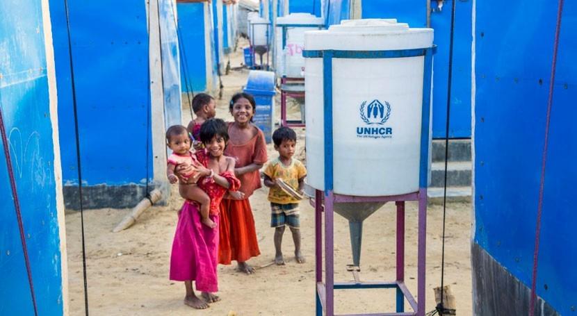 innovación y tecnologías verdes dotan agua potable refugiados rohingya