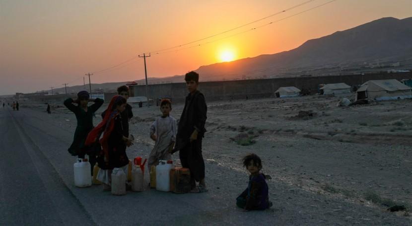 Tres millones afganos podrían verse gravemente afectados sequía 2021