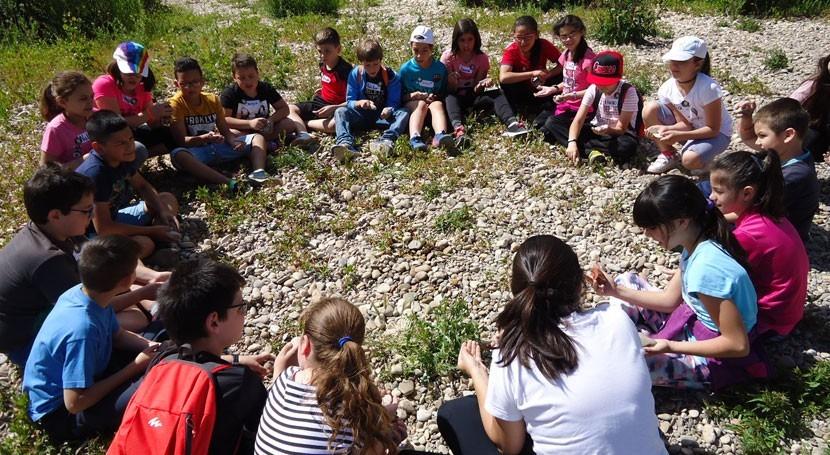700 alumnos colegios Valladolid han participado programa ambiental ríos