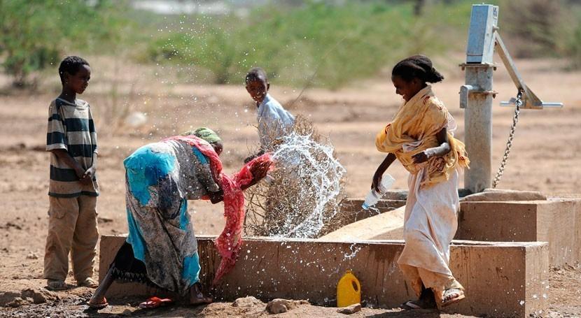 innovadora app mejorar captación agua lluvia África