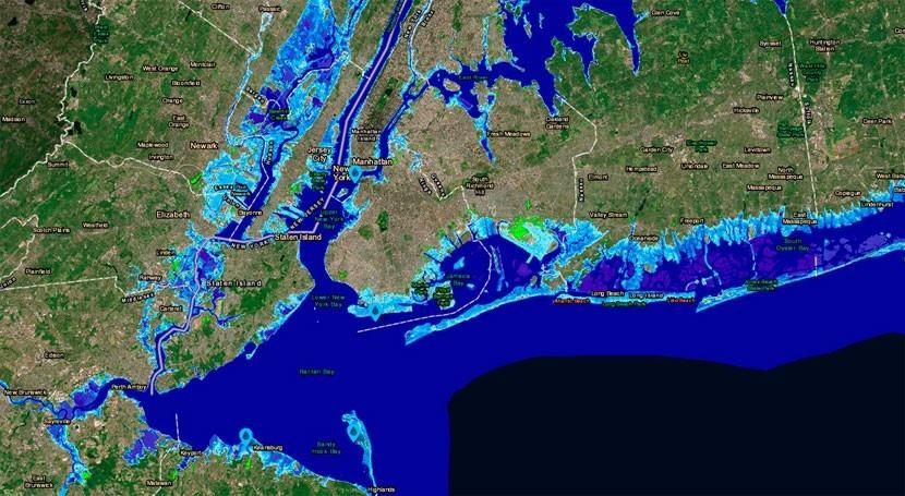 emisiones GEI podrían elevar nivel mar 15,2 metros 2300