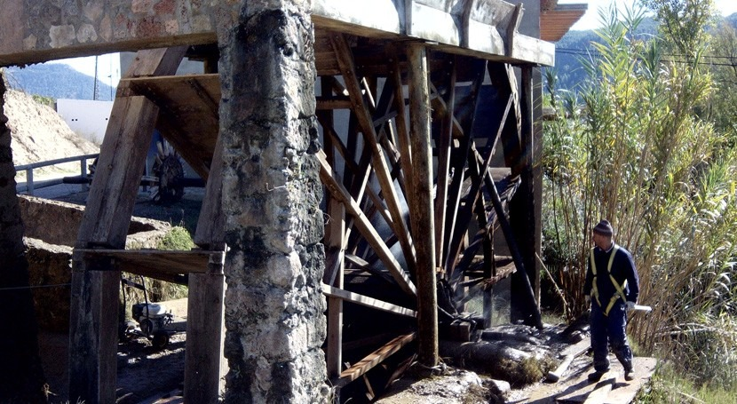 Valencia destina 30.000 euros al mantenimiento último sistema riego noria