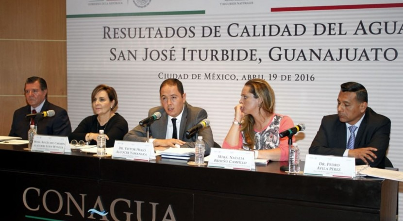 agua potable San José Iturbide cumple normas mexicanas sanidad