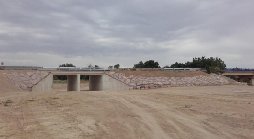 Finalizadas actuaciones emergencia avenidas Novillas, Boquiñeni y Pina Ebro