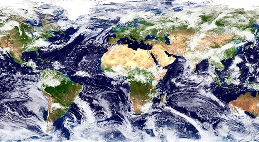 Hombre, erupciones volcánicas y clima: nubes van norte y trópicos se secan
