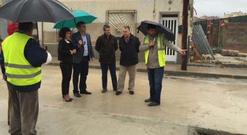nuevo colector permitirá mejorar red saneamiento 1.300 habitantes Beniel