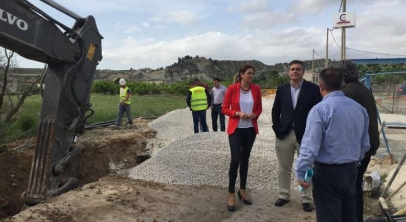 Archena mejorará saneamiento construcción nuevo colector