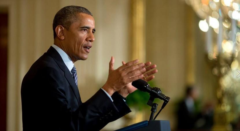 """Obama: """" cambio climático es imperativo económico y seguridad que hay que abordar ahora"""""""