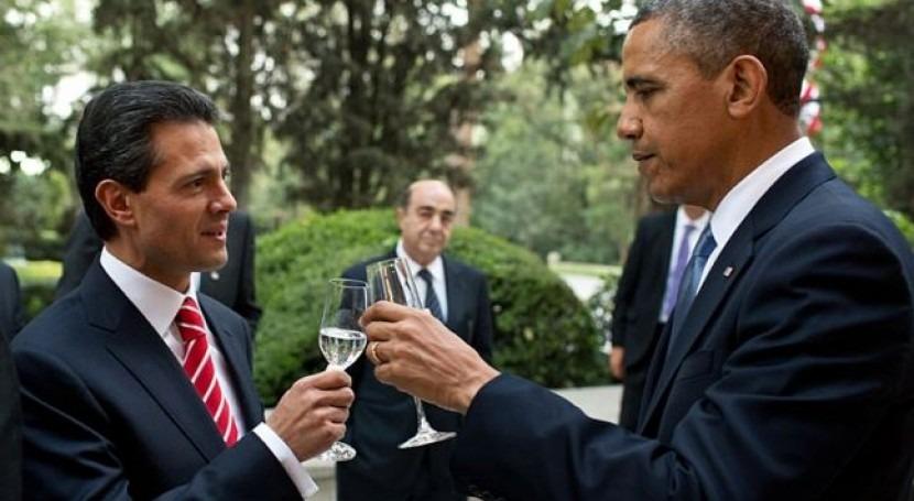Enrique Peña Nieto y Barack Obama en una imagen de archivo (wikipedia/CC)