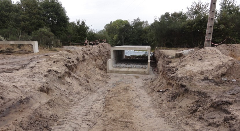 Confederación Miño-Sil mejora calidad agua río Limia utilizando métodos naturales