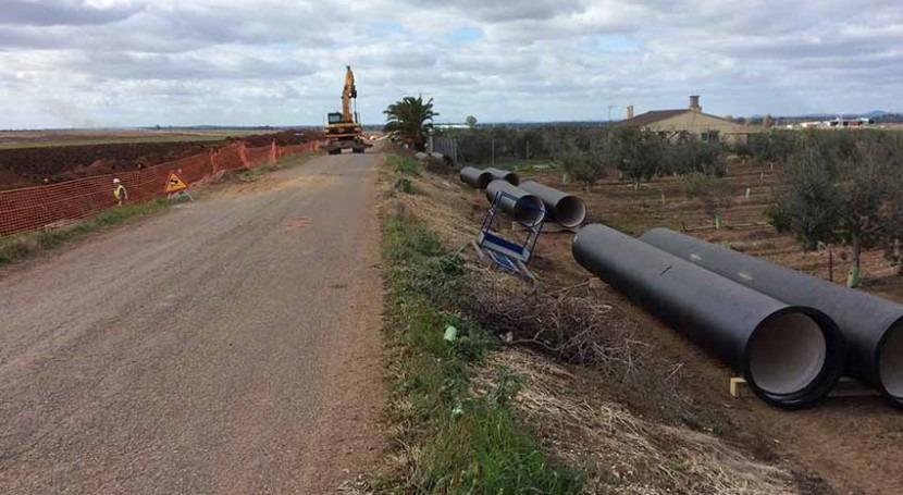 Saint-Gobain PAM España suministra tubería fundición dúctil modernización regadíos