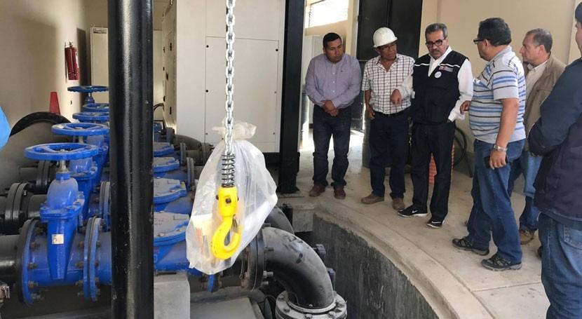 Avanzan obras agua y saneamiento Huanchaco