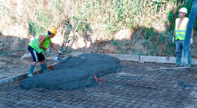 Finalizan obras reducir desbordamientos Barranco Diablo Huesca