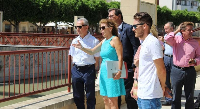 Confederación Segura recupera capacidad hidráulica río Segura Rojales