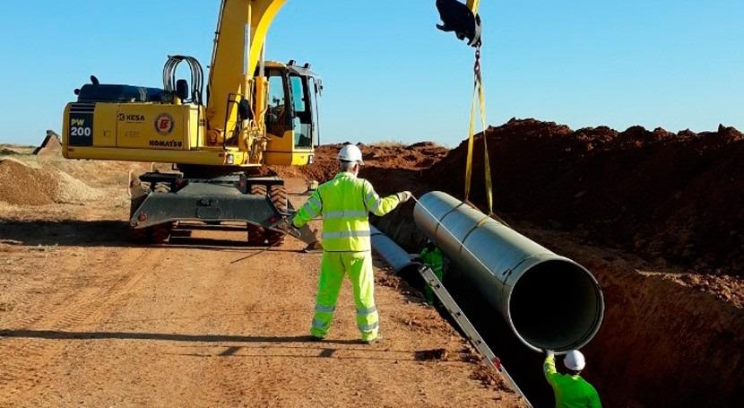 Aprobada encomienda obras estación bombeo y red riego sector XVI Payuelos