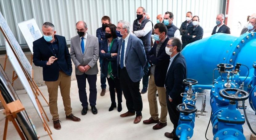 Aragón apoya modernización regadío Bardenas, que prevé inversión 114 millones