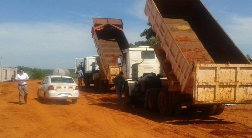 fines marzo arrancarán obras hidráulicas Ruta 3 Paraguay