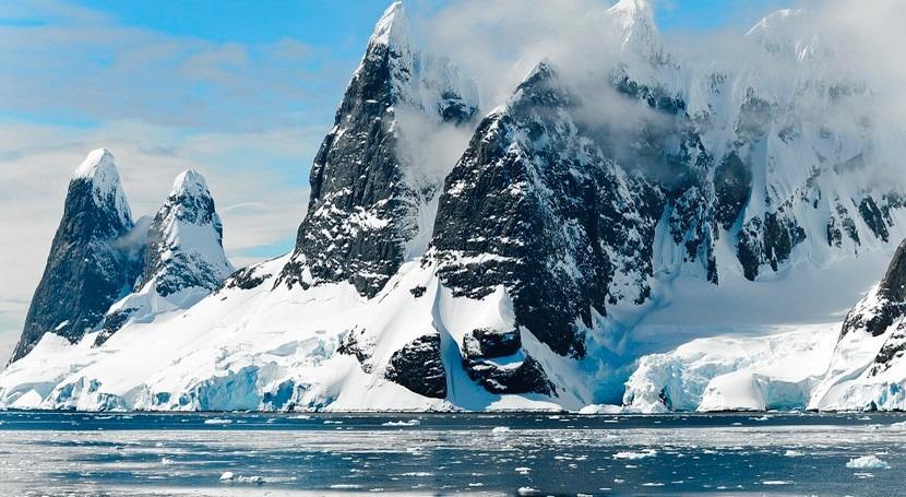océano Ártico se hace más pequeño debido al cambio clima más atlántico