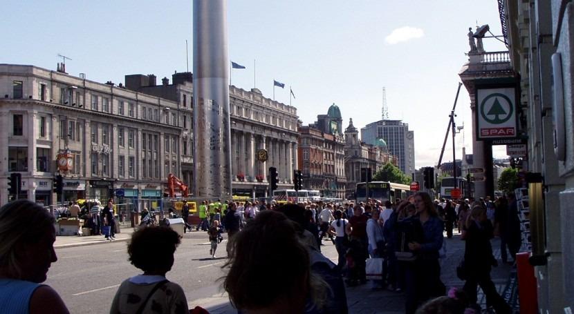 O'Connel Street en Dublín (Foto: wikipedia)