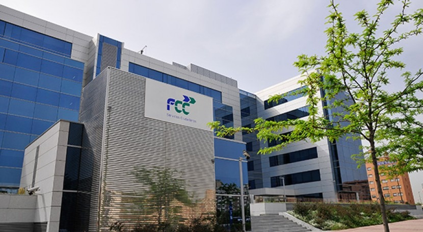 FCC cierra primer semestre beneficio 54,8 millones euros