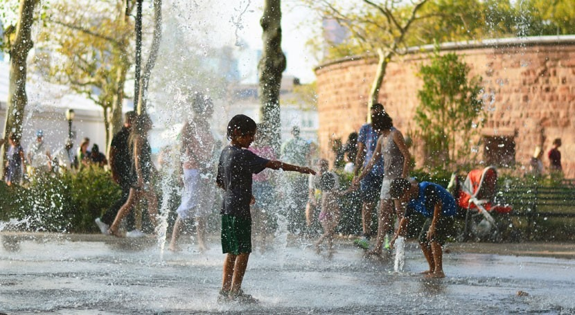 España, países que registra más olas calor al año
