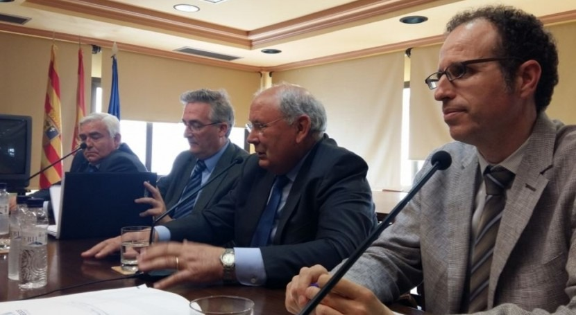 Aragón propone ayuda 28 millones euros durante 4 años modernizar regadíos
