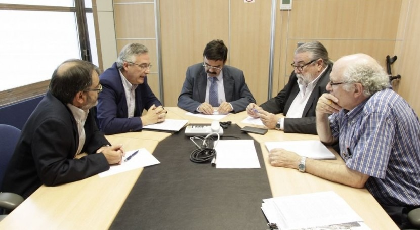 """Joaquín Olona: """"Necesitamos Confederación Hidrográfica Ebro siglo XXI"""""""